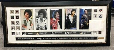 Micheal Jackson Certificate of Limitation Frame Collection