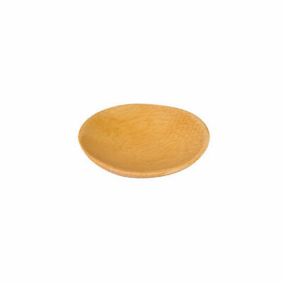 12 x Disposable Mini Bamboo Dish Round 60mm Catering / Functions / Events