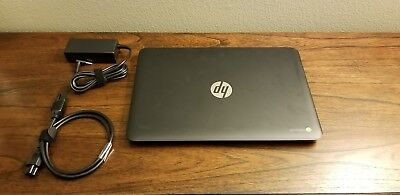 "HP Chromebook 14"" Celeron 2955U 1.40GHZ 4GB RAM 16GB SSD T-Mobile"