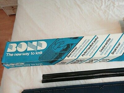 Vintage Bond Classic knitting machine excellent condition all original see pics