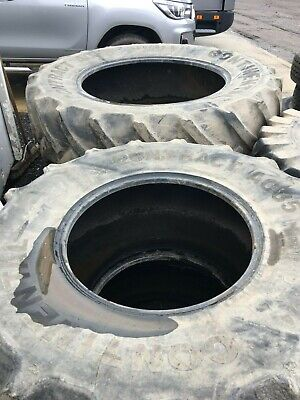 Continental Tractor Tyres Front and Rear