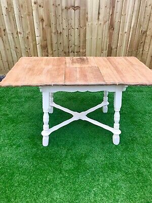 Antique Oak Louis XV Style French Country Extendable Dining Table