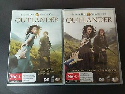 Outlander Season One Volume One & Two Dvd Box Set