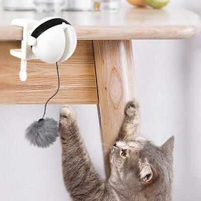 Pet Cat Electric Toys Teaser Interactive Cats Toy Rotating Funny Yo-Yo Toys