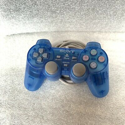 Sony Playstation 1 One PS1 Ice Blue Controller SCPH-1200 OEM Original Official