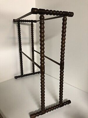 Antique Wooden furniture Towel Rail Towel Stand ~  free-standing