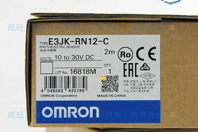 1PC  Omron photoelectric switch E3JK-RN12-C