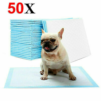 New 60 X 45 Cm Large Puppy Training Pads Toilet Pee Wee Mats Pet Dog Cat Pads