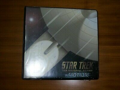 STAR TREK THE ORIGINAL SERIES TOS IN MOTION Base Set, BS1 card and binder