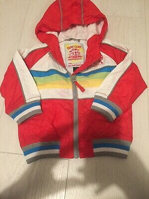 Boys Next Red Jacket Age 9-12 Months