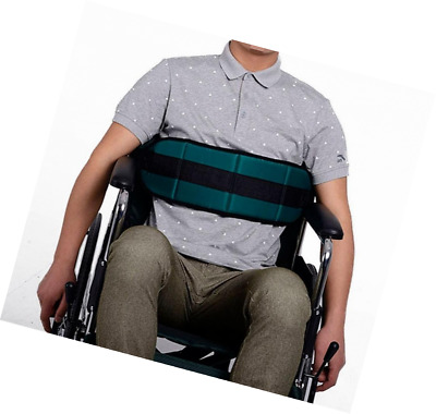 QEES Wheelchair Seat Belt with Soft Cushion, Mobility Restraint Strap, Scooter S