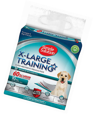 Simple Solution Premium Dog and Puppy Training Pads (Pack of 10)