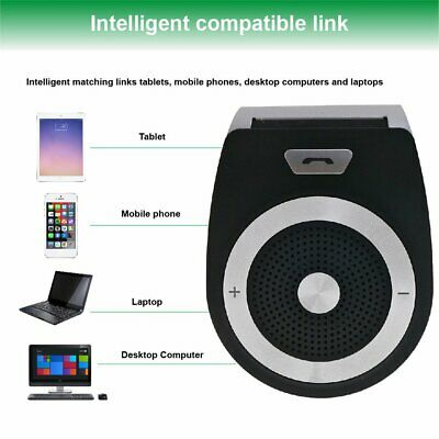 Wireless Hand-free Vehicle Sunshade Four languages Music Receiver Car-borne GH