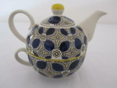 T2 TEA FOR ONE Teapot & Tea Cup As New