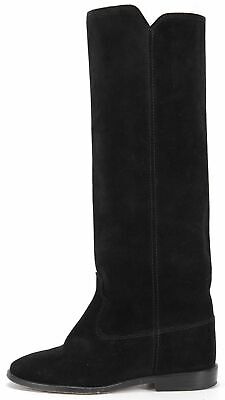 fca3e7e3bc0 ISABEL MARANT DALLIN Suede Western Cowboy Boots in Black Size FR 36 ...