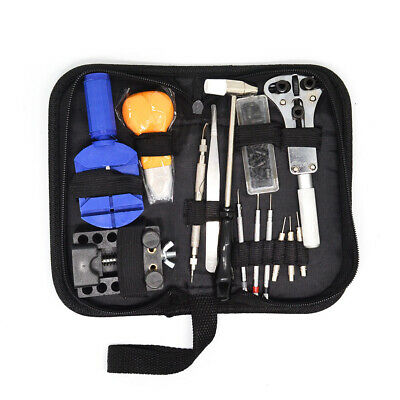 13pcs Watch Repair Tool Kit Opener Link Remover  with Hammer