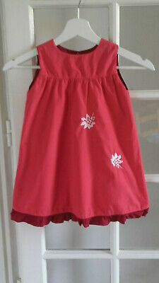 ensemble fille double face ~~  3 ans  ***MARESE*** Pivoine (1 robe + 1 veste )