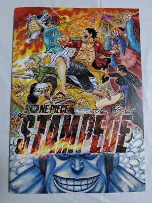 F/S ONE PIECE STAMPEDE Movie booklet Brochure 20th ANNIVERSARY japanese  Limited