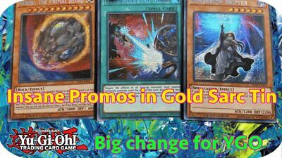 20% off 5+  Yugioh 2019 Gold Sarcophagus Tin - TN19, MP19