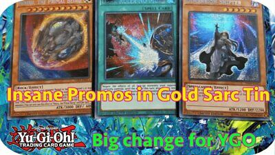 Clearance 25% off 5+ Yugioh 2019 Gold Sarcophagus Tin - TN19, MP19