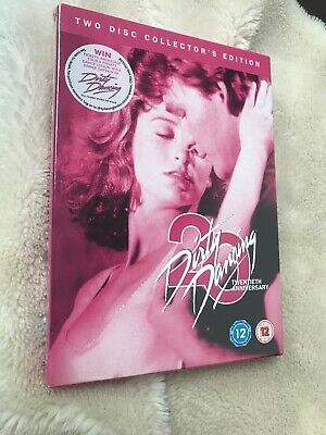 Dirty Dancing DVD 2-Disc SEALED 20th Anniversary Edition Slipcover O-Ring Swayze