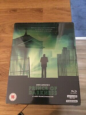 John Carpenter's Prince Of Darkness Limited Edition 4K Blu Ray Steelbook(New)Oop