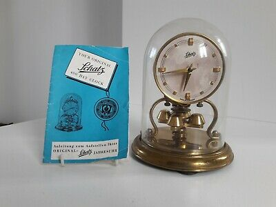 Schatz 400 Day Clock With Original Instruction Booklet For Spares Or Repair