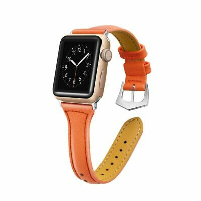 Leather Watch Band Strap Bracelet for Apple Watch Series 4/3/2/1 iWatch 42mm