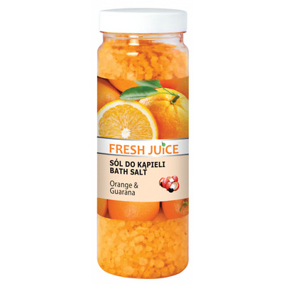 Fresh Juice - bath salt, orange & guarana 700g