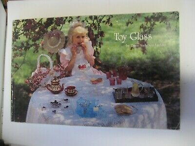 Original 1989 First Edition Toy Glass Reference Book By Doris Anderson Lechter