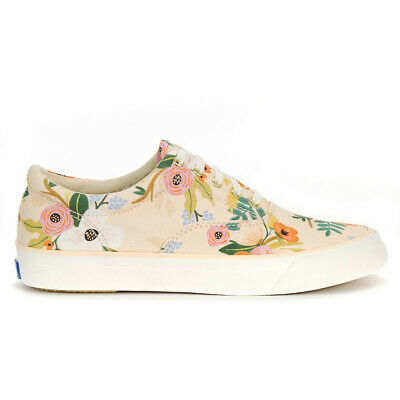 KEDS DAMEN SCHUHE Anchor Rifle Paper Lively Blumen Pink Rose Canvas Wf58355