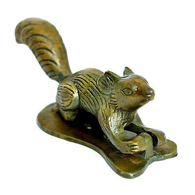 Squirrel Design Antique Vintage Style Handmade Brass Door Knocker Home Decor