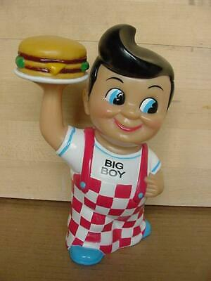 Vintage Bob's Big Boy Promo  Advertising Doll With Hamburger Coin Bank