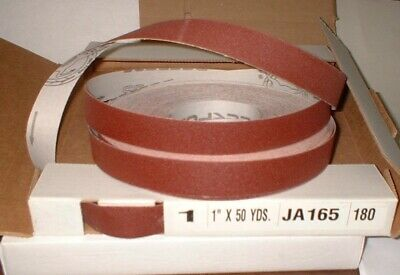 "1"" X 50 Yards 180 Grit Prod.Abrasive Emery Cloth Rolls  #PAE1-180"