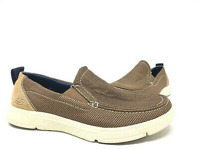 NEW! SKECHERS MEN'S MOOGEN SELDON Slip On Loafer Beige