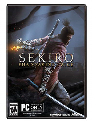 Pc Action-Sekiro:shadows Die Twice (Download Only-No Disc) Pc Nuovo