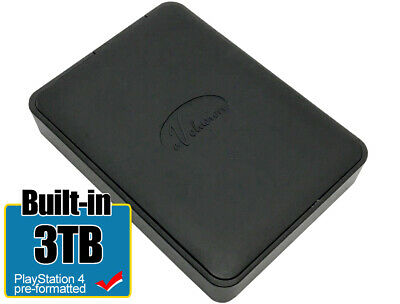 Avolusion 3TB (HD250U3-X1) USB 3.0 Portable External Hard Drive PS4 PreFormatted