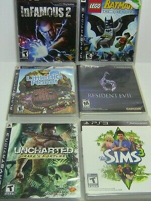 Selection of Sony Playstation PS3 Video Games. Used Tested Working. Tomb Raider
