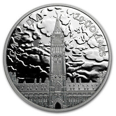 2019 RCM 1 oz Silver $20 Lights on Parliament Hill - SKU#196764