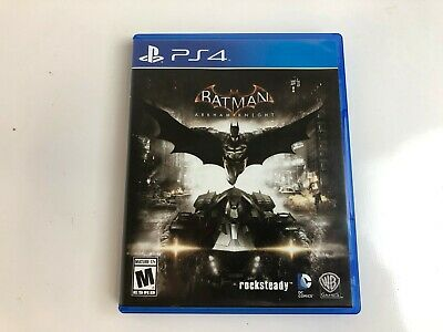 Batman: Arkham Knight (Sony PlayStation 4, 2015) ps4 Complete Free Shipping