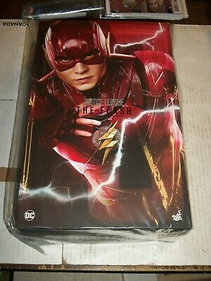 Hot Toys Justice League THE FLASH 1/6 Scale Figure MMS448 NEW