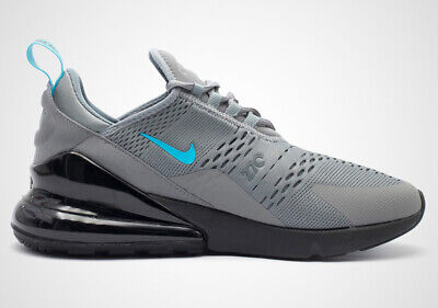 NIKE AIR MAX 270 Cool Grey Blue Fury Cd1506 001 New In Box