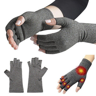 Arthritis Gloves Compression Hand Wrist Brace Relief Carpal Tunnel Pain 1 Pair