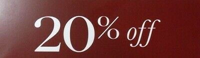 Pottery Barn coupon 20% off entire order(works on furnitures) (> 15%)