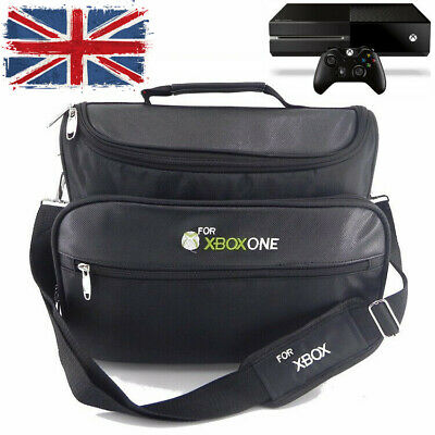 Waterproof Case Carry Shoulder Protect Bag For Xbox One S/X Console & Controller