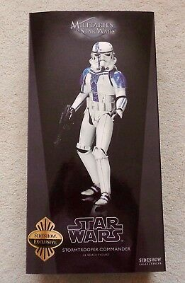 "SIDESHOW EXCLUSIVE Star Wars - Stormtrooper Commander 12"" 1:6 Sixth Scale Clone"