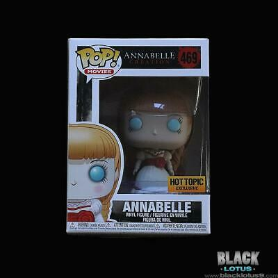Funko Pop! Annabelle Creation Hot Topic Conjuring Horror IN STOCK Pop 469