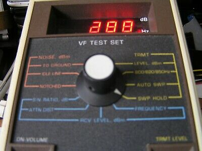 VF TEST SET SIERRA MODEL 808C-11 in working condition. WITH LED DISPLAY