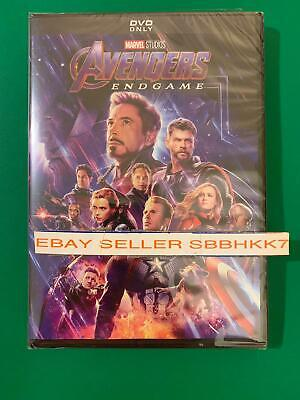 Avengers Endgame End game DVD AUTHENTIC W/ Disney Rewards Insert READ New!