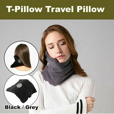 T-Pillow Portable Soft Comfortable Travel Pillow Proven Neck Support Sitting SK